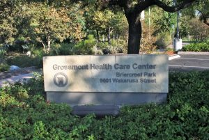 Grossmont Health Care Sign